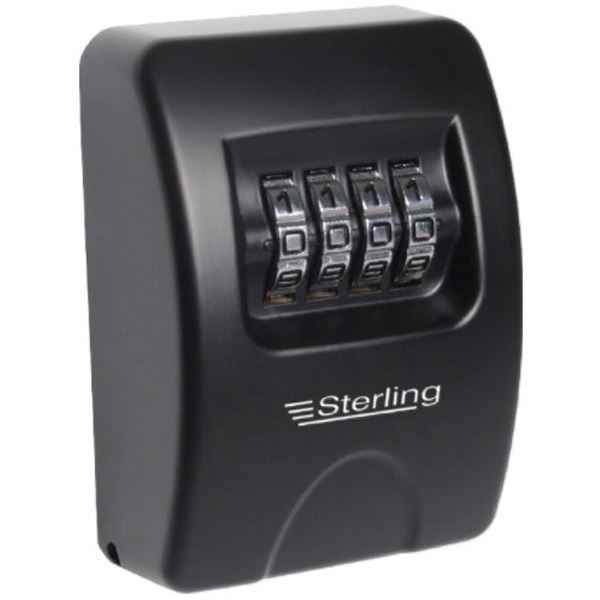 Sterling Key Minder - Combination Locking Box