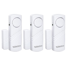 Sterling Door and Window Alarm - 3 Pack