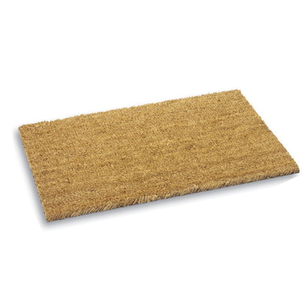 Door Mat - Basic Coir - Brown - 400mm x 700mm