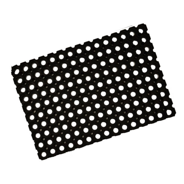 Door Mat - Brigade - Black - 400mm x 600mm