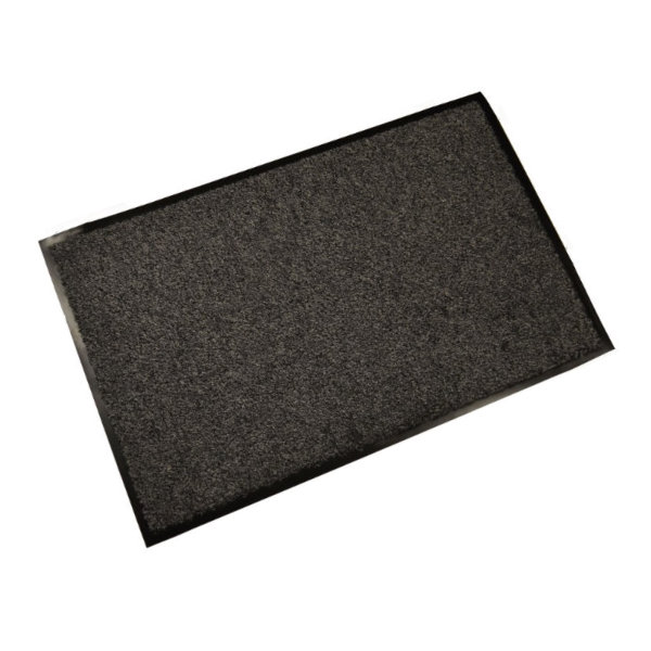 Door Mat - Cotton Washable - Grey - 800mm x 500mm