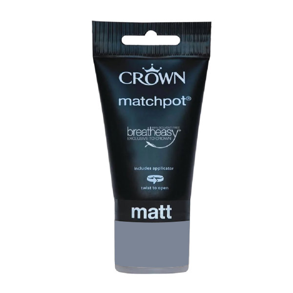 Crown Matt Emulsion 40ml - Matchpot - Blues - Runaway