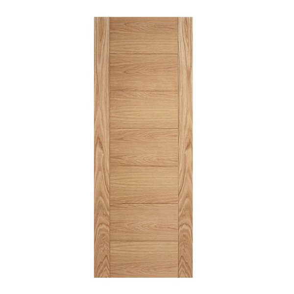Oak Carini 7-Panel Door - All Sizes
