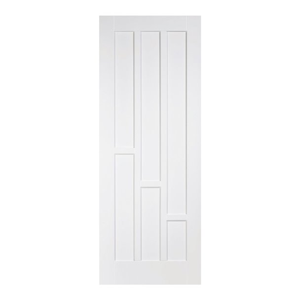 White Coventry 3-Panel Door - All Sizes