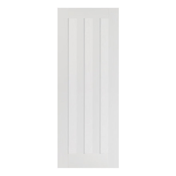 White Idaho 3-Panel Door - All Sizes