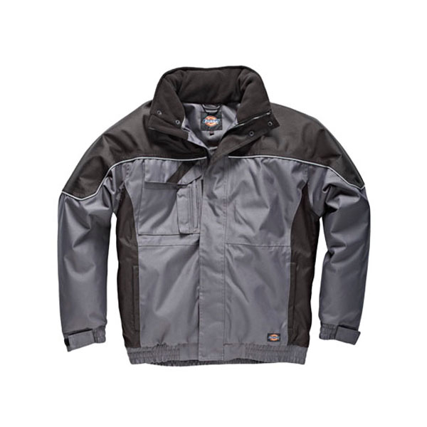 Dickies Industry Winter Jacket - Grey / Black - Large