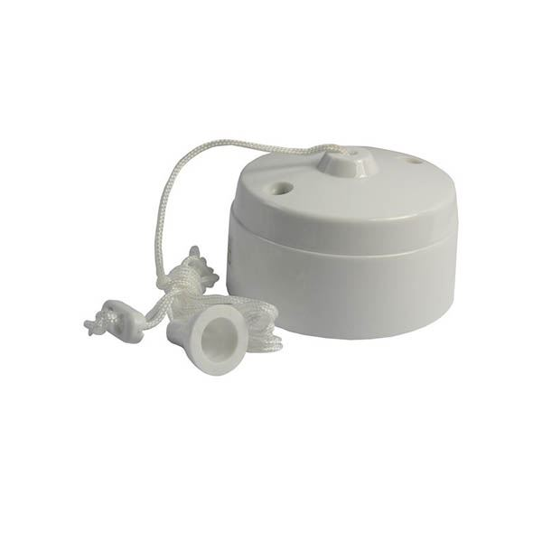 Jegs Ceiling Pull Switch - 5 Amp - 2 Way