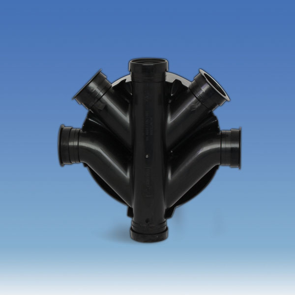 Underground Chamber Base 450mm - 5 Outlets