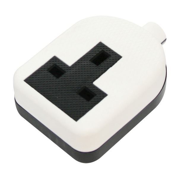 Jegs Resilient Trailing Socket - White - 1 Gang 13 Amp