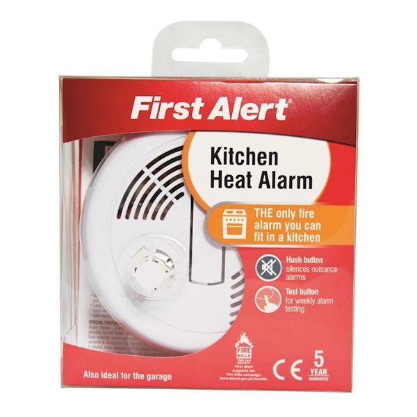kitchen heat alarm first alert woodlands diy store. Black Bedroom Furniture Sets. Home Design Ideas