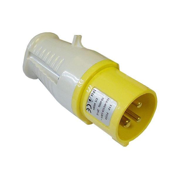Faithfull Yellow Plug - 110V 16 Amp