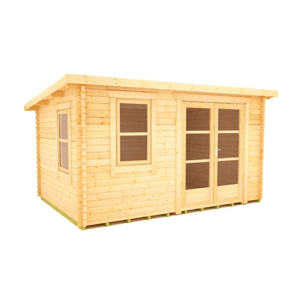 The Rho - 44mm Log Cabin - 14Ft Length x 8Ft Width