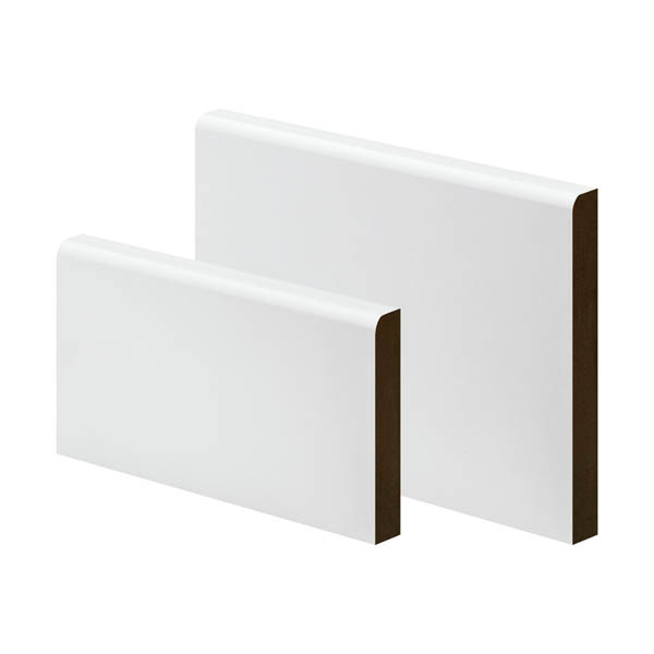 MDF Pencil Round Skirting - 18mm x 45mm - Per Metre