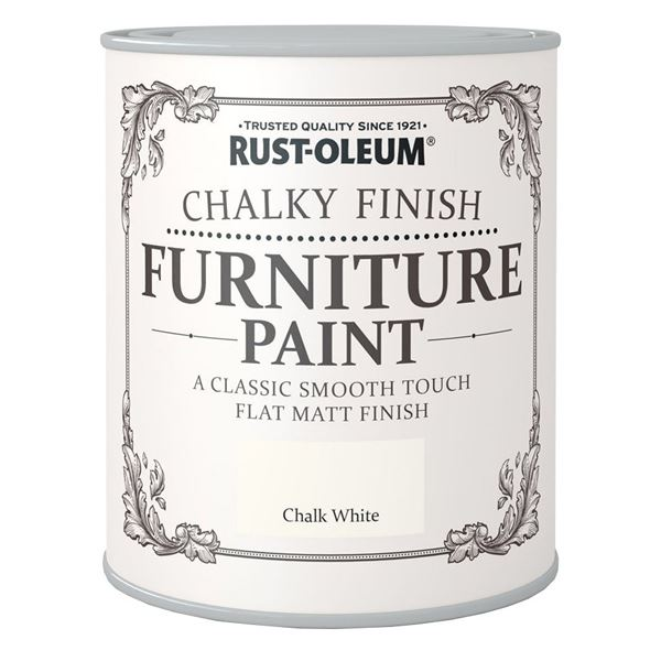 Rustoleum Furniture Paint 125ml - Chalk White