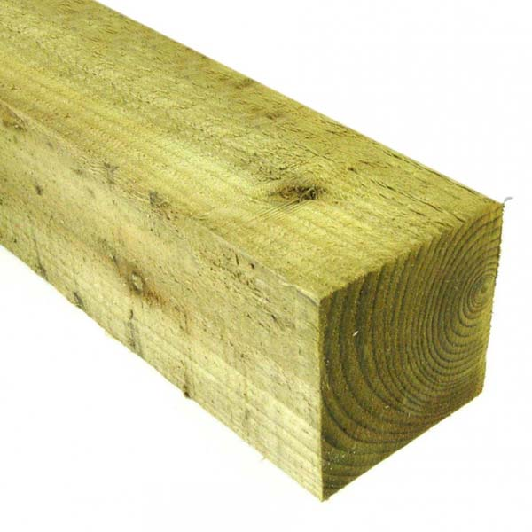 Treated Rail - 25mm x 50mm x 3.6Mt