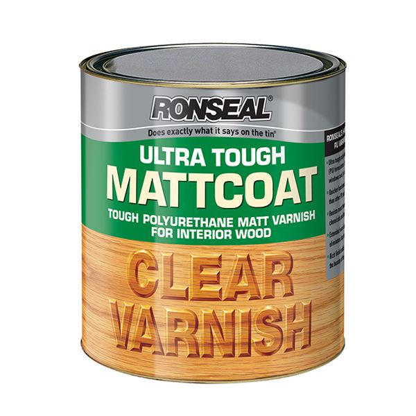 Ronseal Ultra Tough Clear Varnish 250ml - Mattcoat