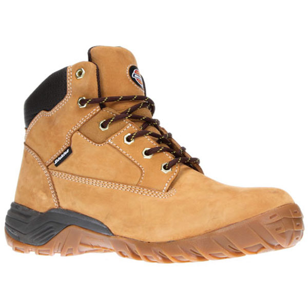 Dickies Graton Safety Boots - Honey - Size 10