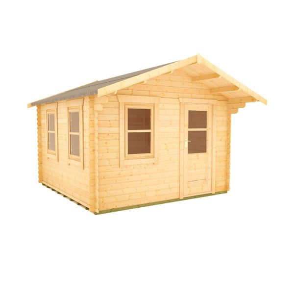 The Caspian - 28mm Log Cabin - 8Ft Length x 12Ft Width