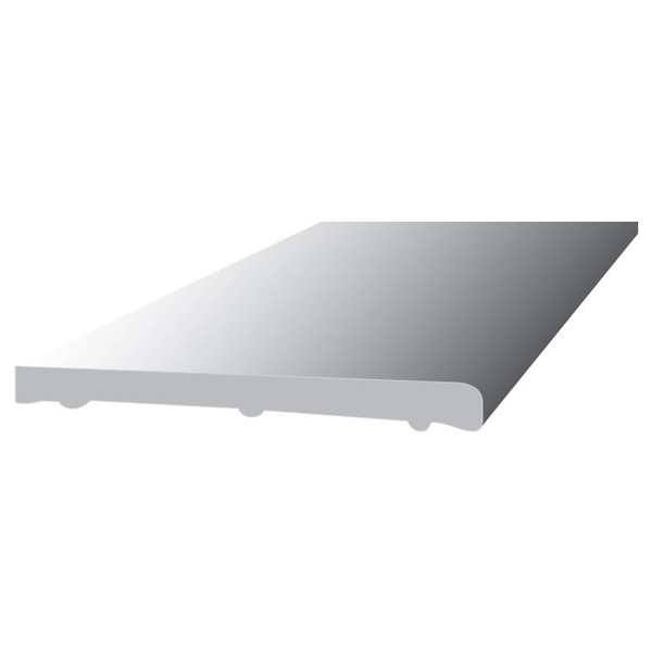 PVC Flat Board 5Mt x 225mm - Black