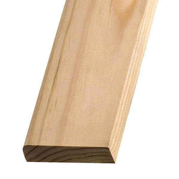 Softwood Pencil Rounded Skirting - 19mm x 75mm - Per Metre