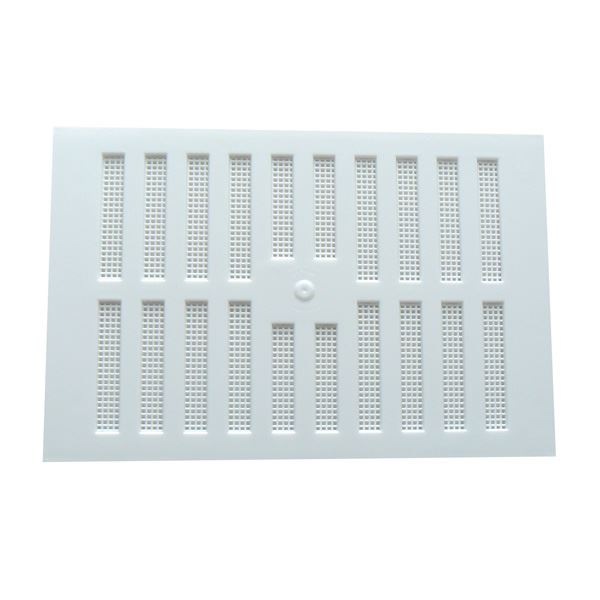 "Hit & Miss Vent - White - 9"" x 3"""