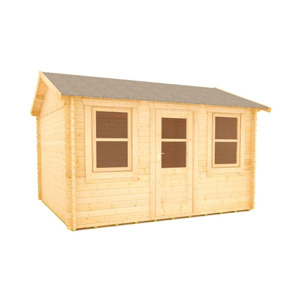 The Sabre - 28mm Log Cabin - 12Ft Length x 12Ft Width