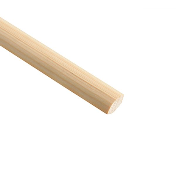 Softwood Quadrant - 2.4Mt x 15mm - (TM672)