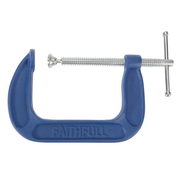 Faithfull G-Clamp 4""