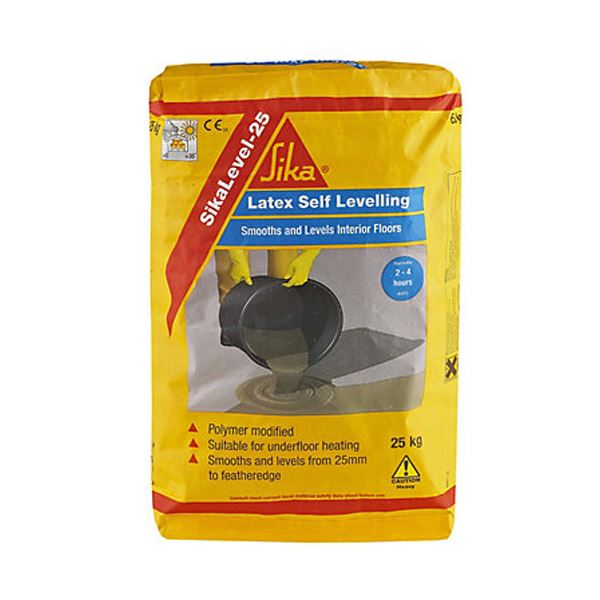 Sika Self Level Floor Compound 25Kg - Latex