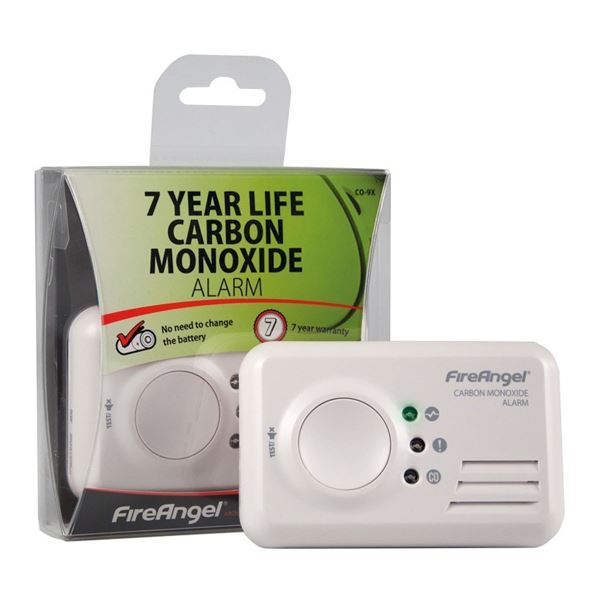 Fire Angel Carbon Monoxide Alarm - 7 Year