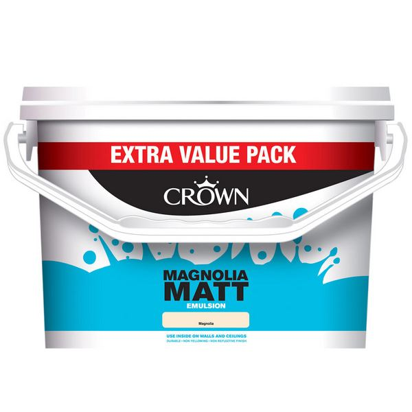 Crown Matt Emulsion 7.5Lt - Magnolia