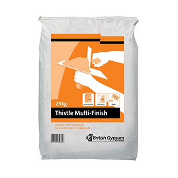 Thistle Multi-Finish Plaster 25Kg