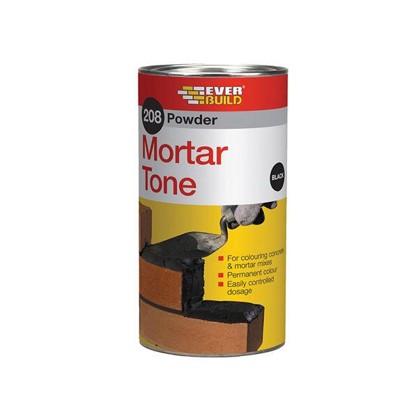 Everbuild 208 - Mortar Tone Powder 1Kg - Red