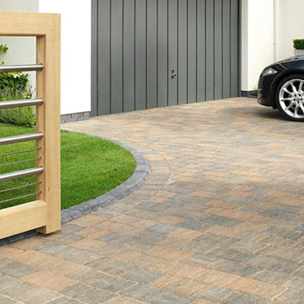 Trident Block Paving - Forest Blend - 120mm x 160mm