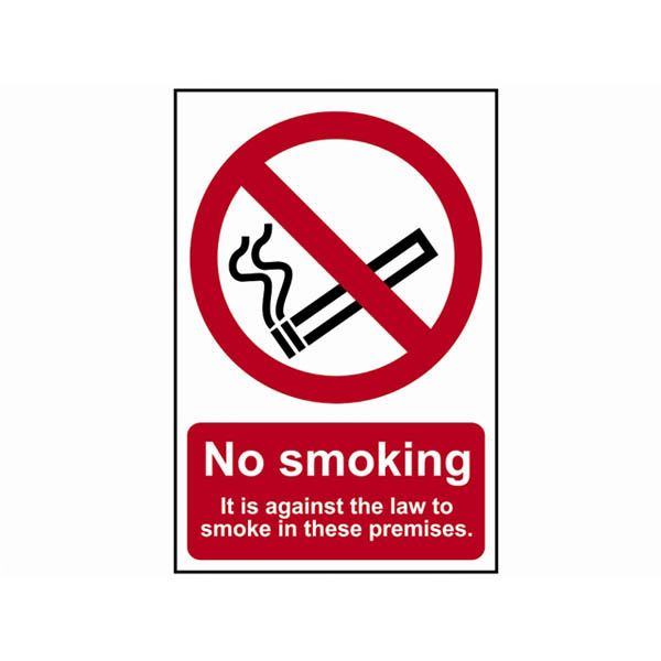 Centurion Sign - No Smoking - Self Adhesive