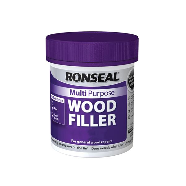 Ronseal Multi Purpose Wood Filler 250g - Dark