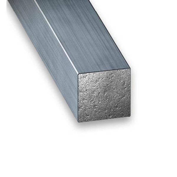 CQFD Drawn Steel Square Rod - 1Mt x 7mm