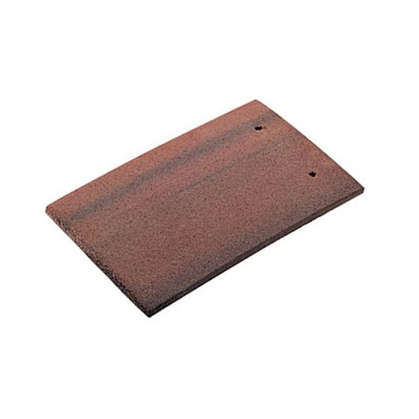 Roof Tile & Half - Rosemary Red - Clay