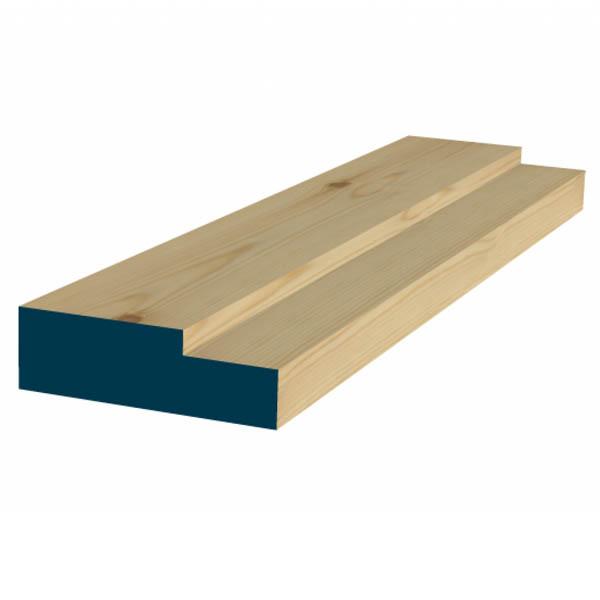 Softwood Door Frame - 63mm x 88mm - Per Metre  sc 1 st  Woodlands DIY & Softwood Door Frame | 63mm x 88mm | Woodlands DIY Store