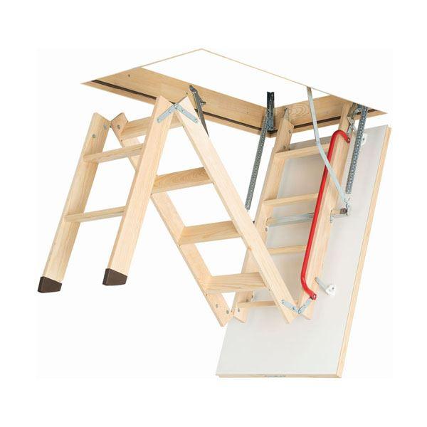 Wooden Loft Ladder Fakro Woodlands Diy Store