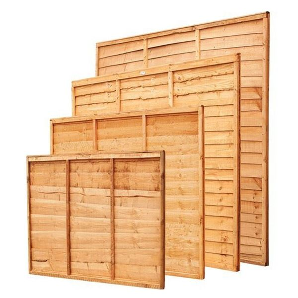 Supalap Fence Panel - 6Ft Wide x 6Ft High