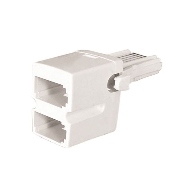 Jegs Telephone Adaptor 2-Way