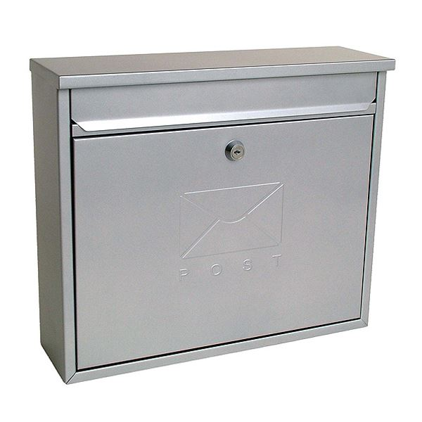 Sterling Post Box - Elegance - Silver