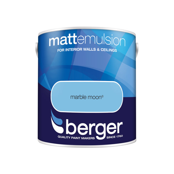 Berger Matt Emulsion 2.5Lt - Marble Moon