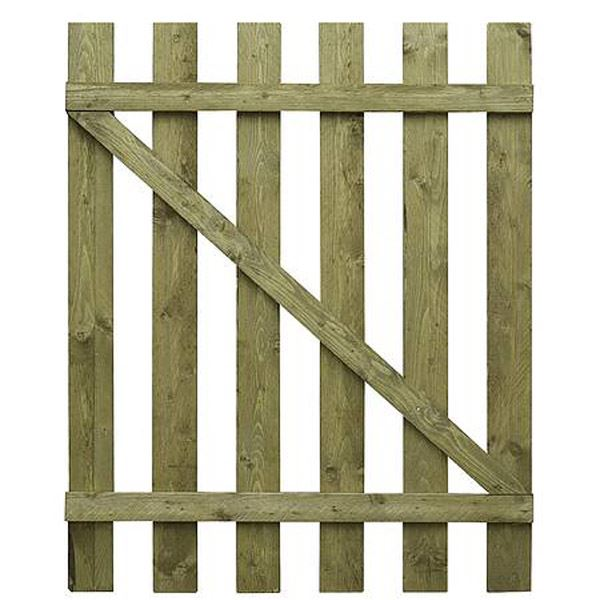 Paling Fence Gate - 6Ft x 3Ft