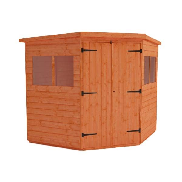 Tiger Deluxe Corner Shed - 6Ft Length x 6Ft Width