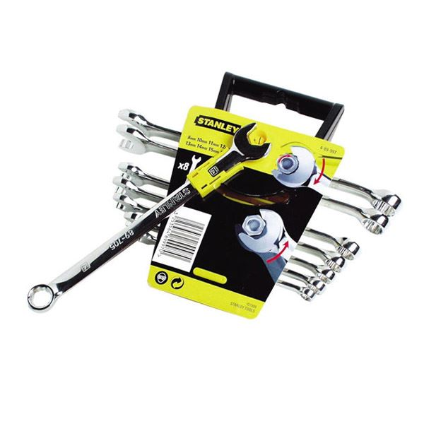 Stanley Spanners - Metric - 8Pc Set