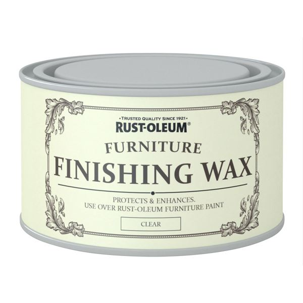 Rustoleum Furniture Paint Finishing Wax 400ml - Clear