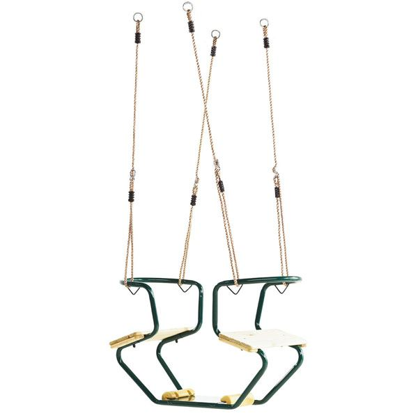 KBT Metal Frame Duo Seat - Green