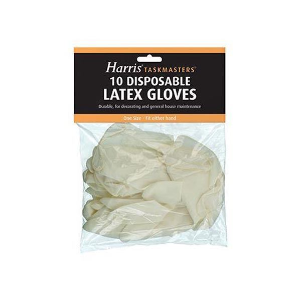 Harris Latex Gloves (10) - (5090)